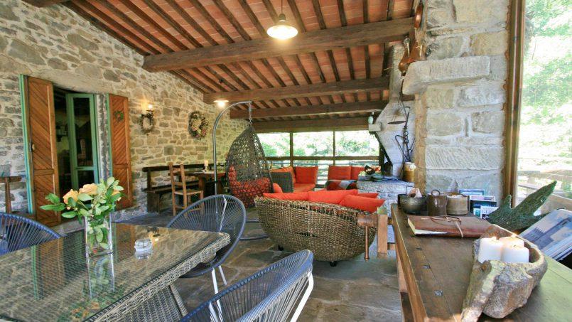Former mill Verdevalle Tuscany Talla 35