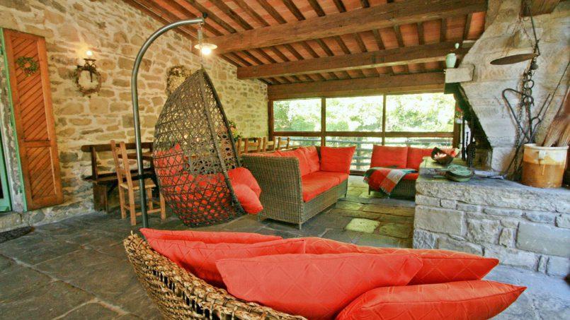 Former mill Verdevalle Tuscany Talla 36