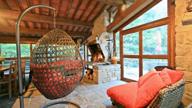 Former mill Verdevalle Tuscany Talla 41