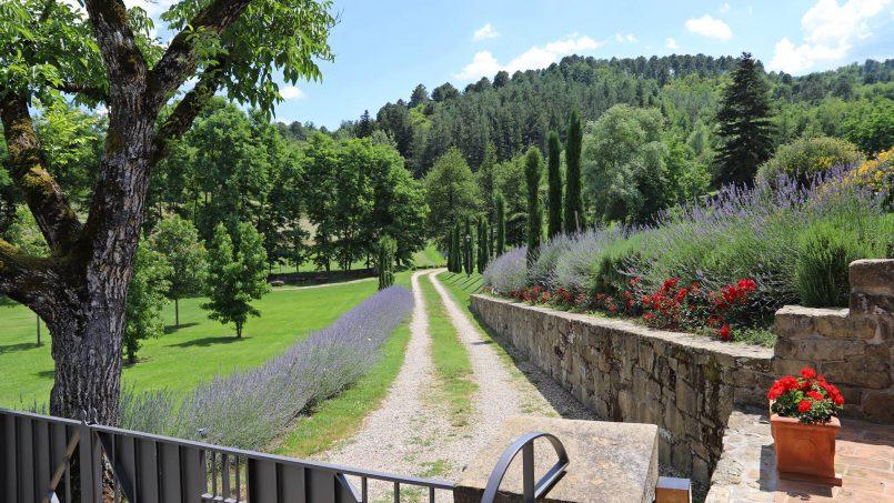 Ancient hamlet Borgo Sereno Tuscany Arezzo 1