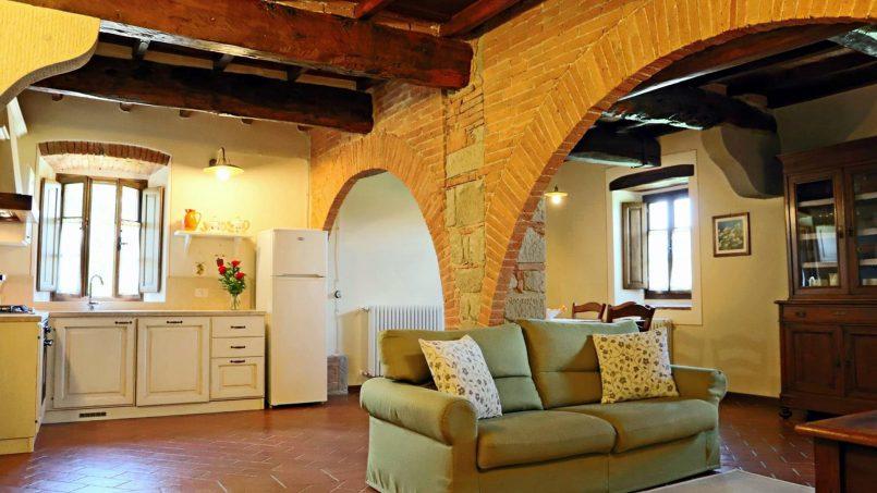 Ancient hamlet Borgo Sereno Tuscany Arezzo 111