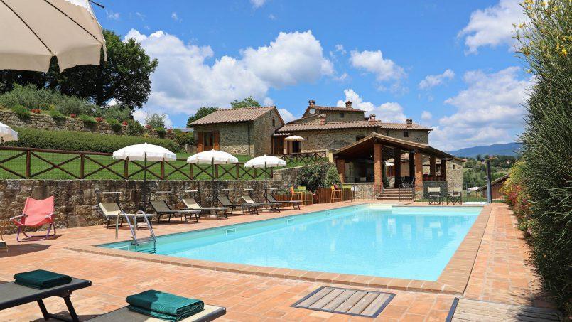 Ancient hamlet Borgo Sereno Tuscany Arezzo 15