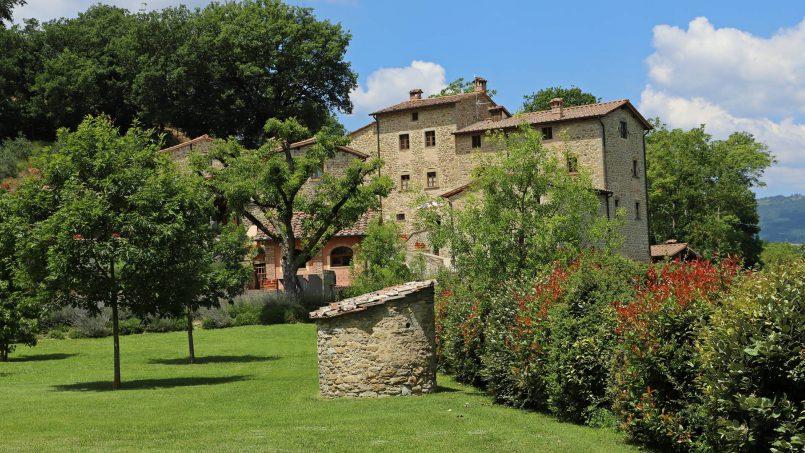 Ancient hamlet Borgo Sereno Tuscany Arezzo 2