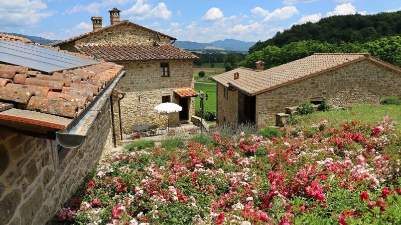 Ancient hamlet Borgo Sereno Tuscany Arezzo 29