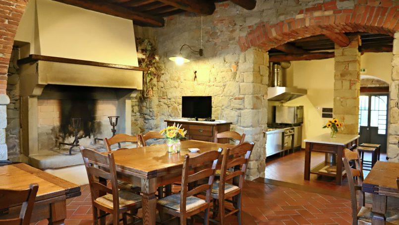 Ancient hamlet Borgo Sereno Tuscany Arezzo 42