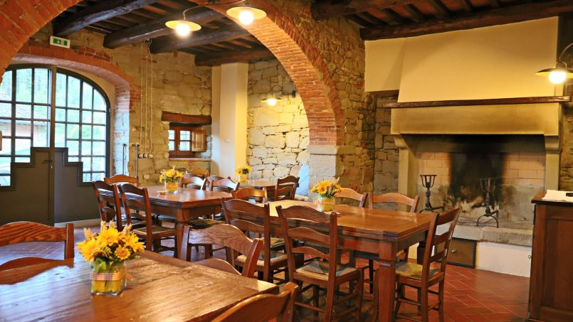 Ancient hamlet Borgo Sereno Tuscany Arezzo 43