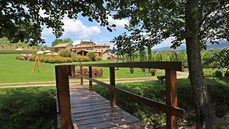 Ancient hamlet Borgo Sereno Tuscany Arezzo 9