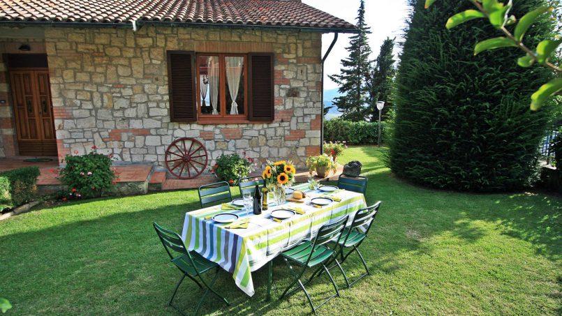 Stone house Casa Rosanna Tuscany Radicondoli 3