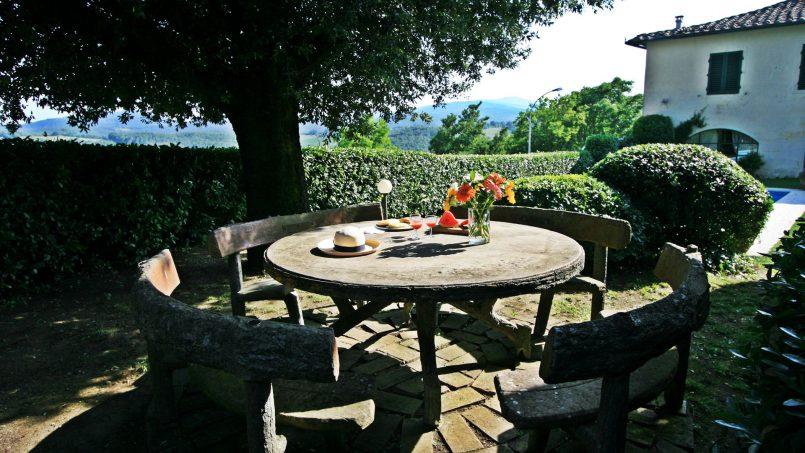 Hillside former convent Villa Dora Tuscany Siena 10