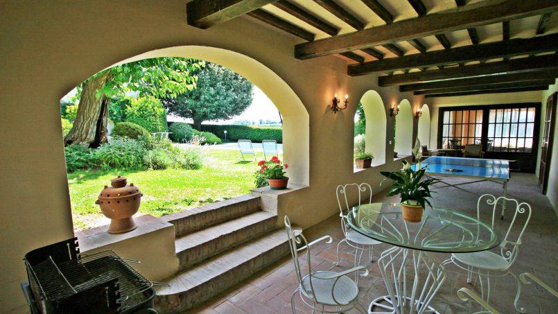 Hillside former convent Villa Dora Tuscany Siena 13