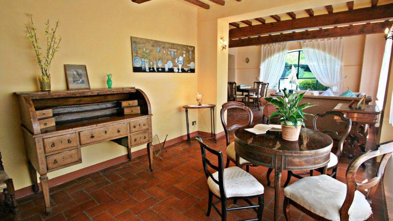 Hillside former convent Villa Dora Tuscany Siena 17