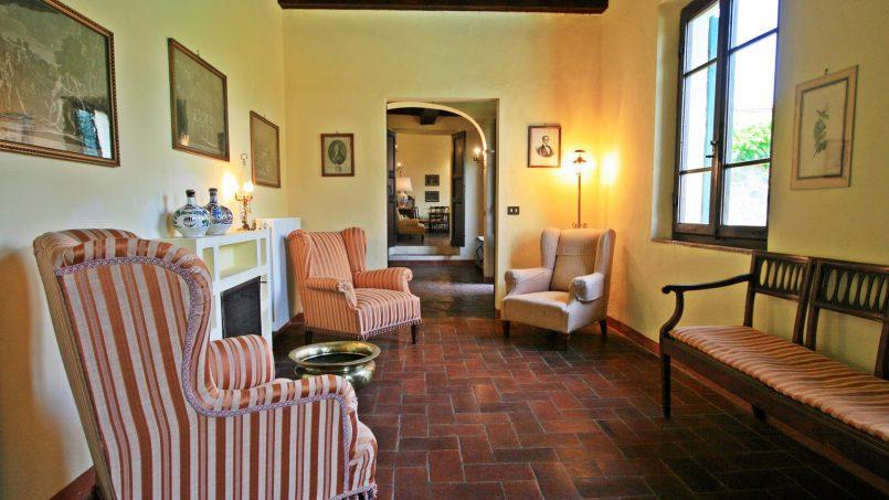 Hillside former convent Villa Dora Tuscany Siena 24