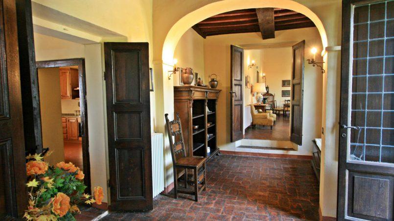 Hillside former convent Villa Dora Tuscany Siena 25