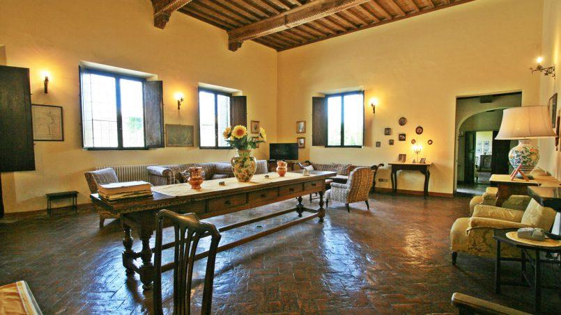 Hillside former convent Villa Dora Tuscany Siena 27