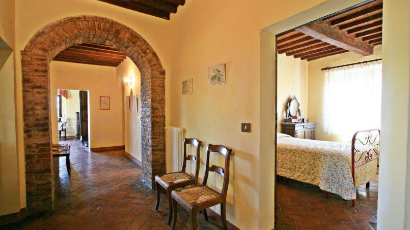 Hillside former convent Villa Dora Tuscany Siena 37