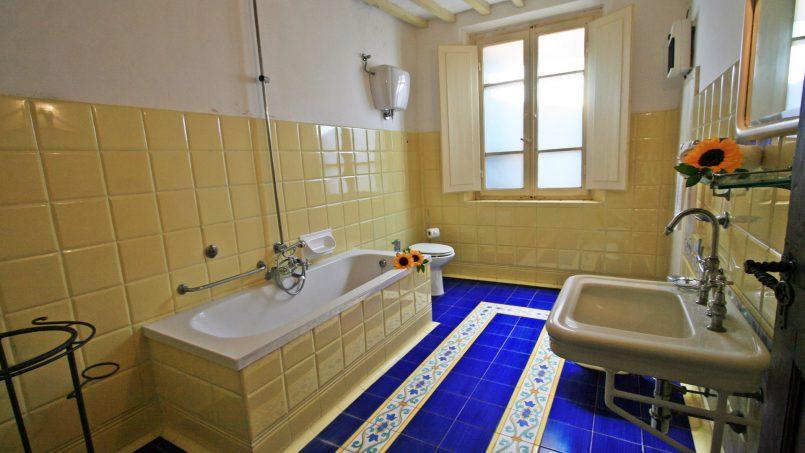 Hillside former convent Villa Dora Tuscany Siena 43