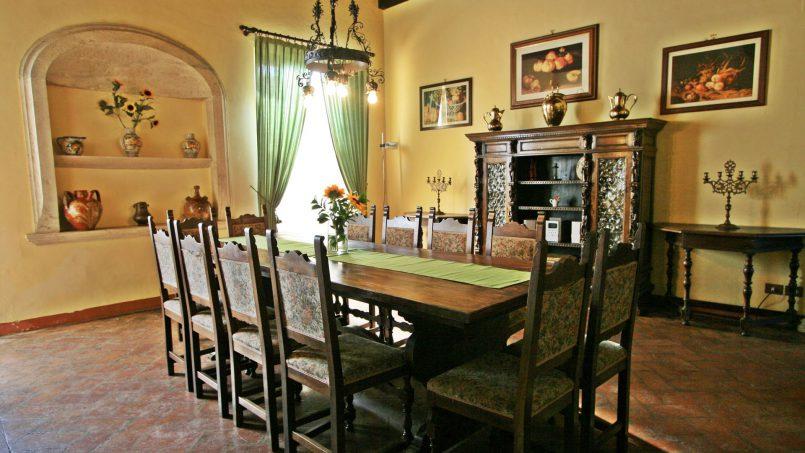 Hillside former convent Villa Dora Tuscany Siena 49