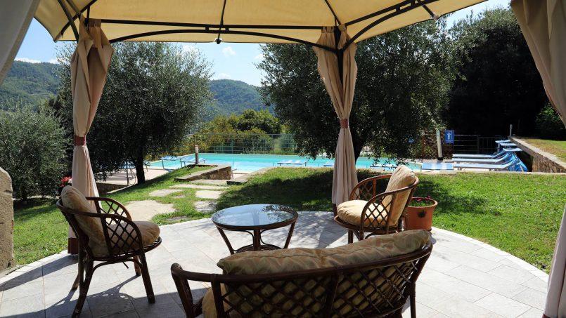 Stone villa Casa Bianca Tuscany Arezzo 22
