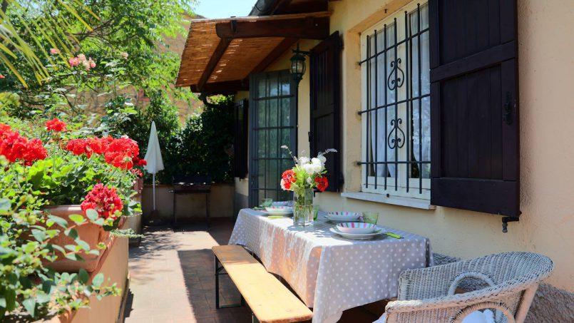 Romantic cottage Gelsomino Tuscany Casole d'Elsa 5