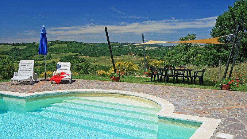 Stone farmhouse Il Colle Tuscany Radicondoli 2