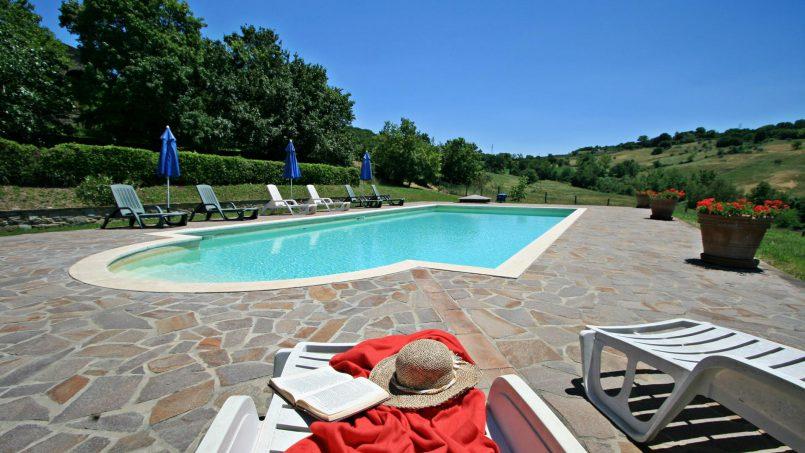 Stone farmhouse Il Colle Tuscany Radicondoli 3