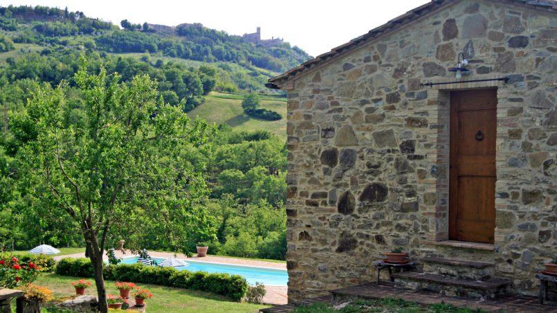 Stone farmhouse Il Colle Tuscany Radicondoli 34