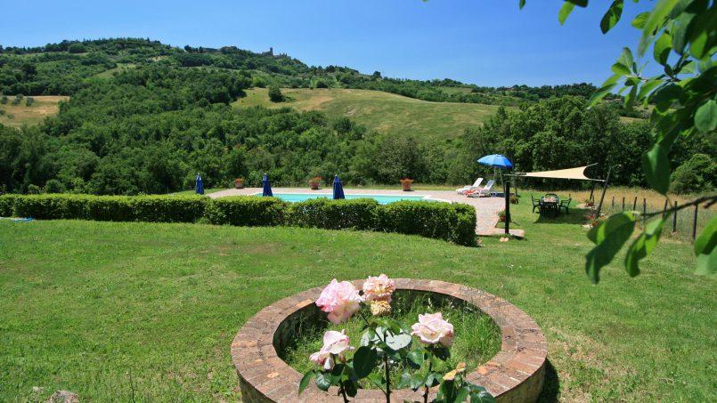 Stone farmhouse Il Colle Tuscany Radicondoli 36