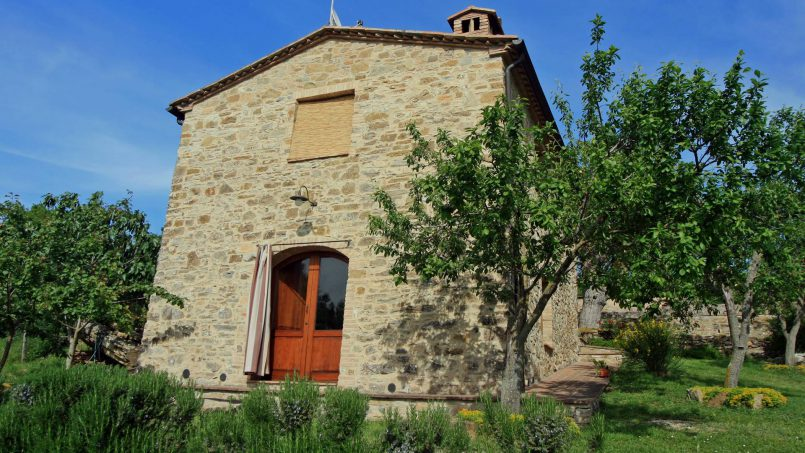 Stone farmhouse Il Colle Tuscany Radicondoli 38