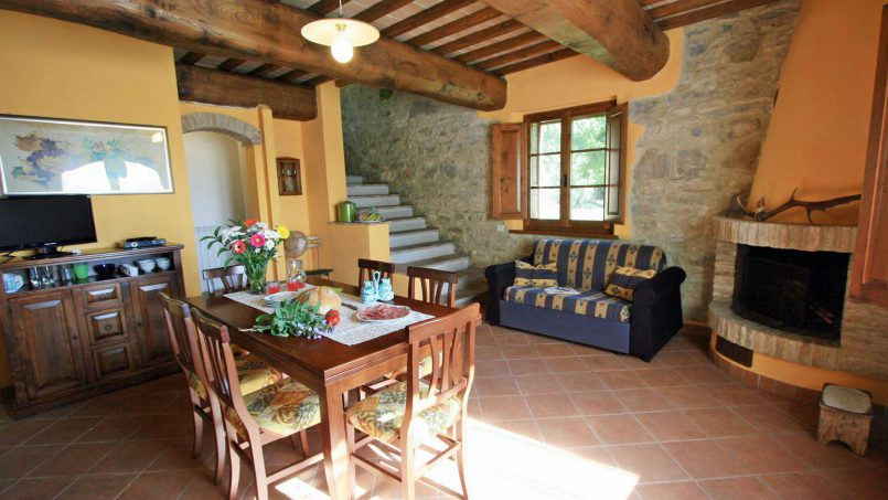 Stone farmhouse Il Colle Tuscany Radicondoli 42