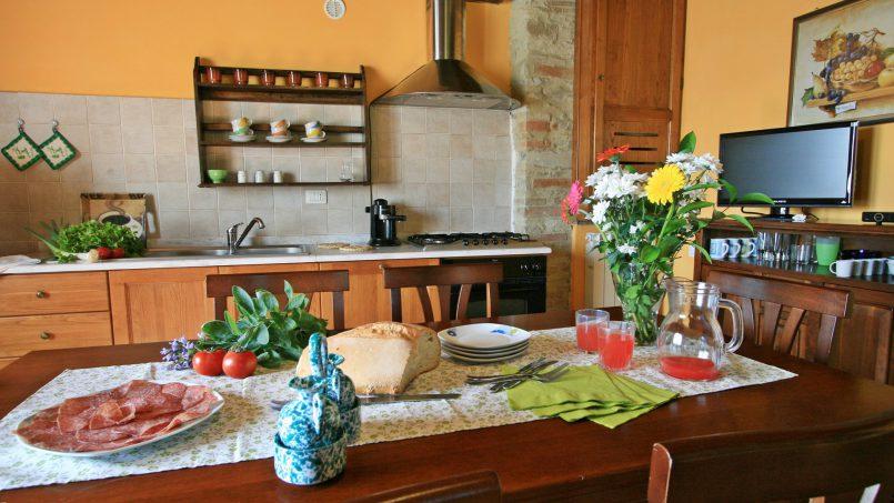 Stone farmhouse Il Colle Tuscany Radicondoli 44