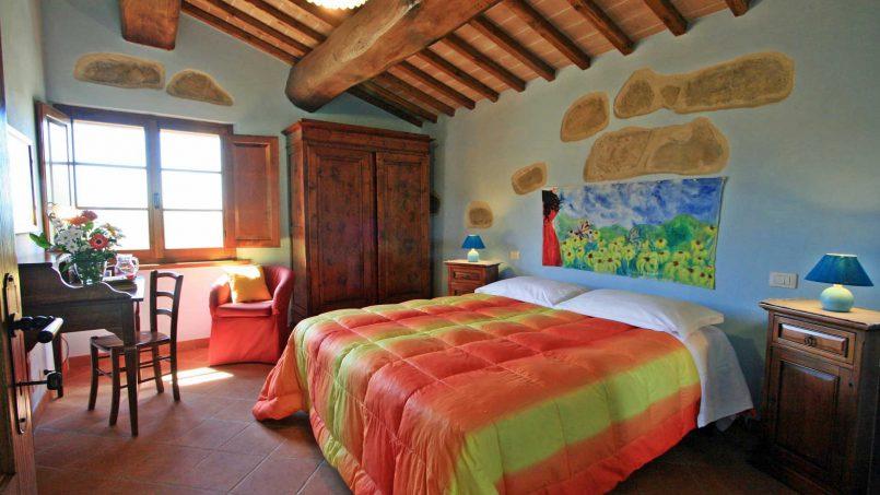 Stone farmhouse Il Colle Tuscany Radicondoli 46