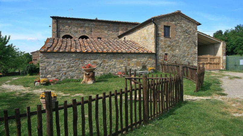 Stone farmhouse Il Colle Tuscany Radicondoli 5