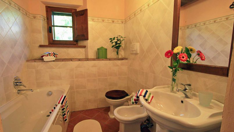 Stone farmhouse Il Colle Tuscany Radicondoli 50