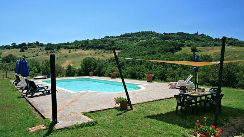 Stone farmhouse Il Colle Tuscany Radicondoli