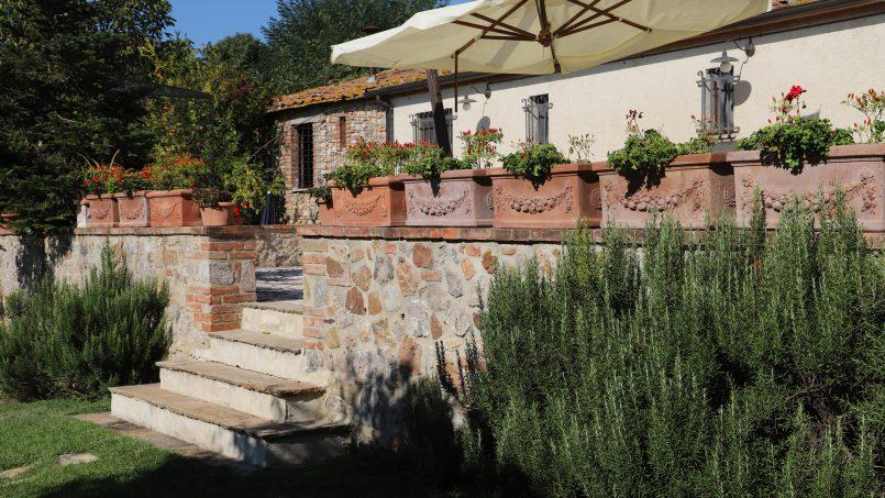 Holiday Villa old barn Peperoncino Tuscany Siena 16