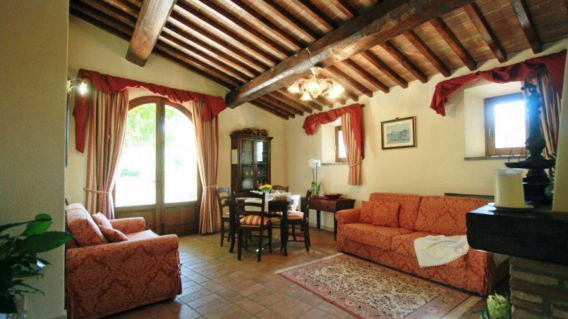 Holiday Villa old barn Peperoncino Tuscany Siena 20