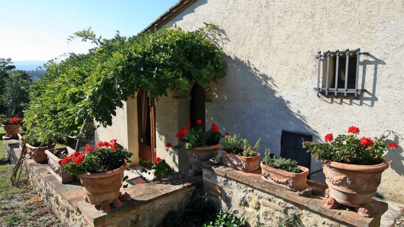 Holiday Villa old barn Peperoncino Tuscany Siena 4
