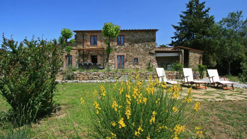 Hillside stone house Villa Frida X Tuscany Pisa 11