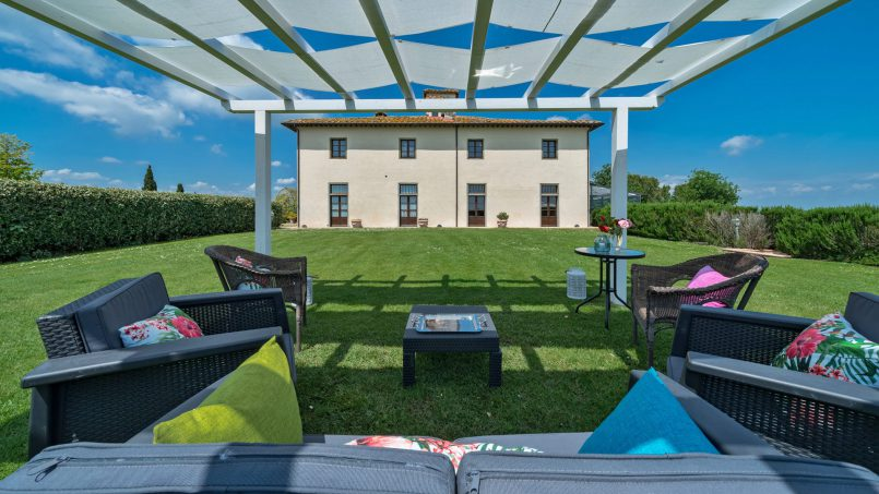 Residence double pool Dolce Villa Arezzo 28