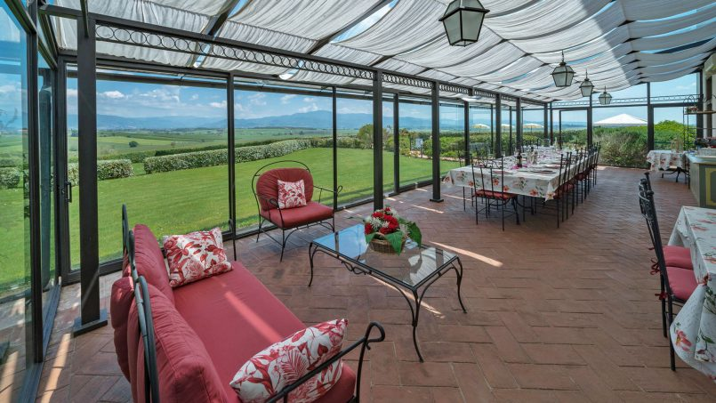 Residence double pool Dolce Villa Arezzo 44