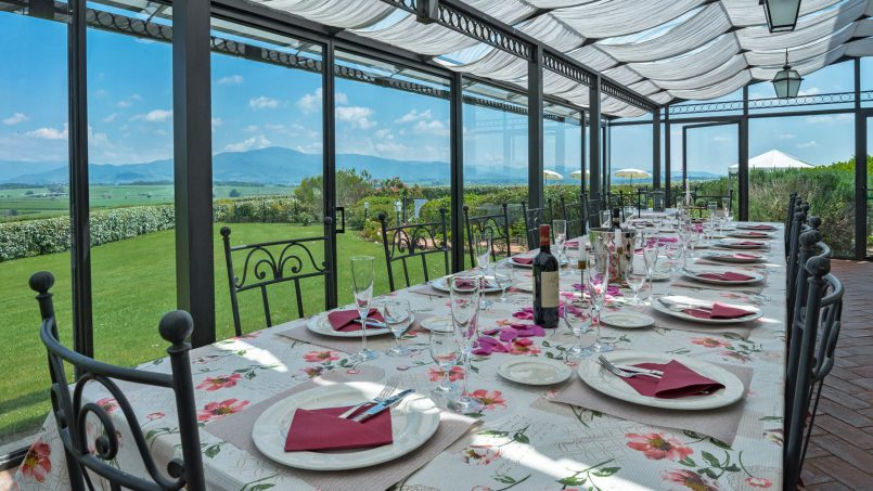 Residence double pool Dolce Villa Arezzo 45