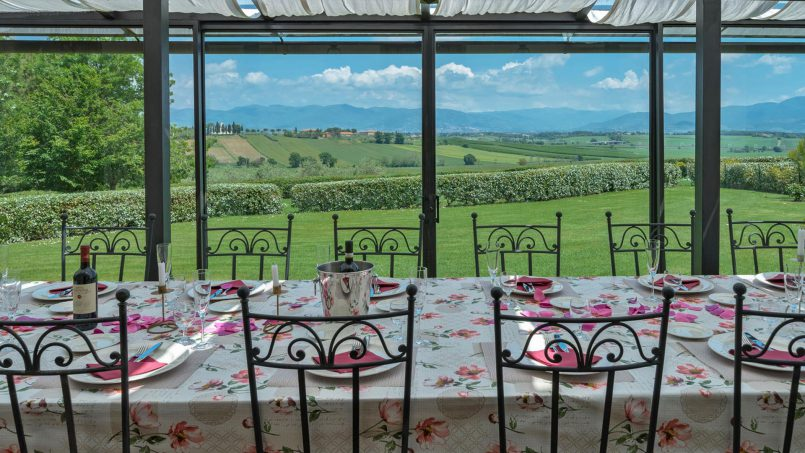 Residence double pool Dolce Villa Arezzo 46