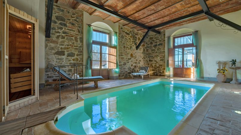 Residence double pool Dolce Villa Arezzo 49