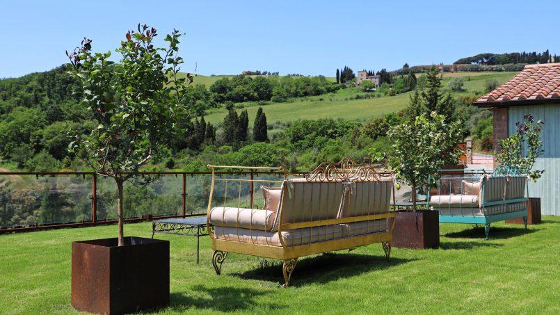 Hillside stone house Villa Frida VI Tuscany Montecatini 10