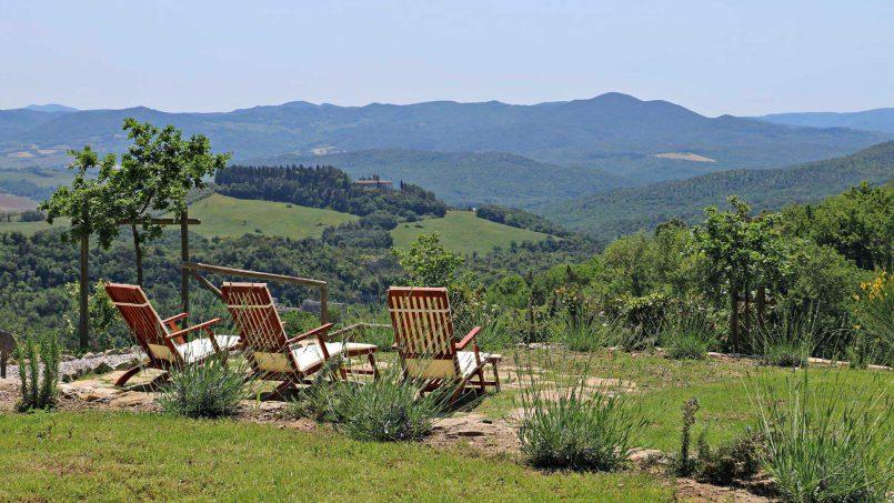 Hillside stone house Villa Frida VI Tuscany Montecatini 13