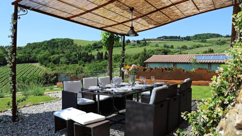 Hillside stone house Villa Frida VI Tuscany Montecatini 14