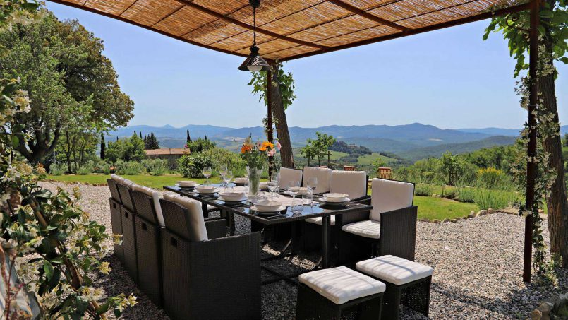 Hillside stone house Villa Frida VI Tuscany Montecatini 17