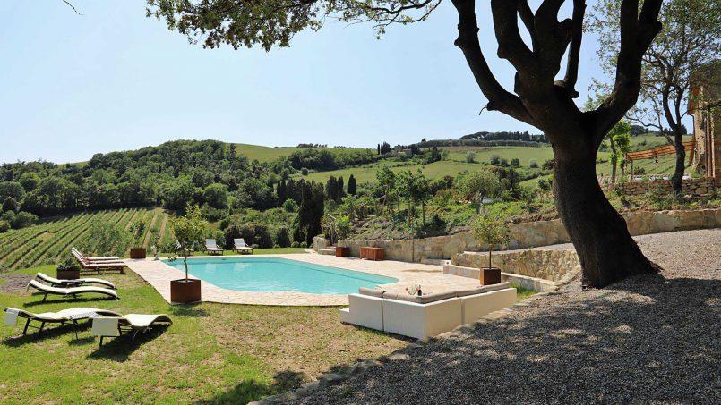 Hillside stone house Villa Frida VI Tuscany Montecatini 21