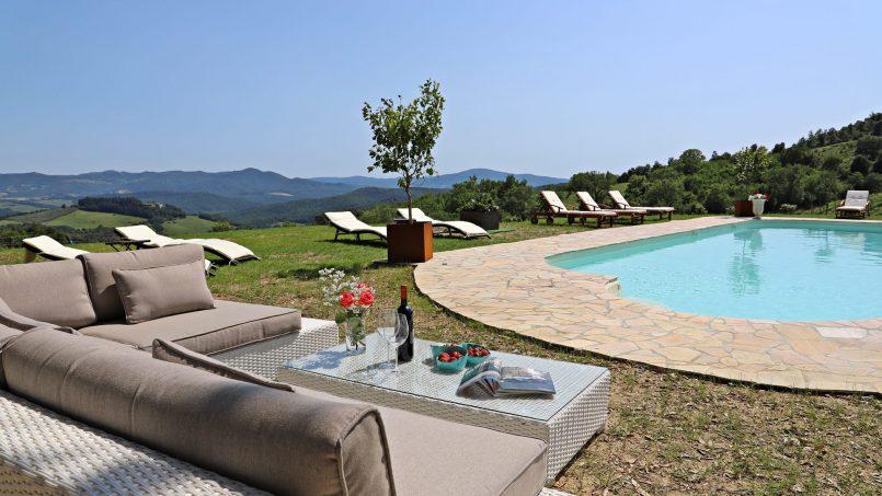 Hillside stone house Villa Frida VI Tuscany Montecatini 24