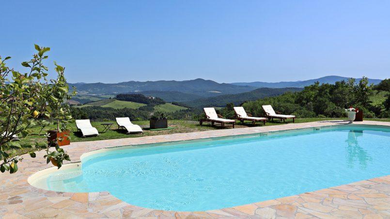 Hillside stone house Villa Frida VI Tuscany Montecatini 25